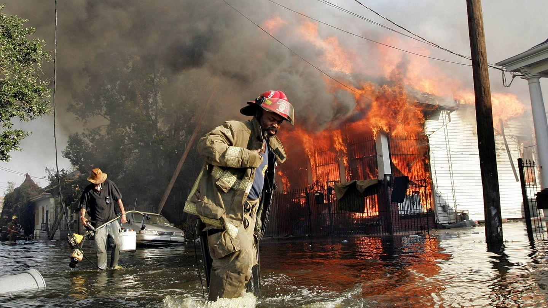 La ciudad de Nueva Orleans, tras el paso del Katrina. (Reuters)