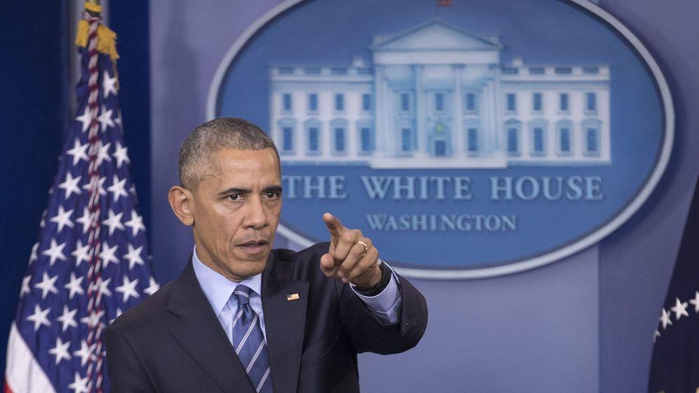 Foto: Barack Obama durante una rueda de prensa, el 16 de diciembre de 2016 (EFE)