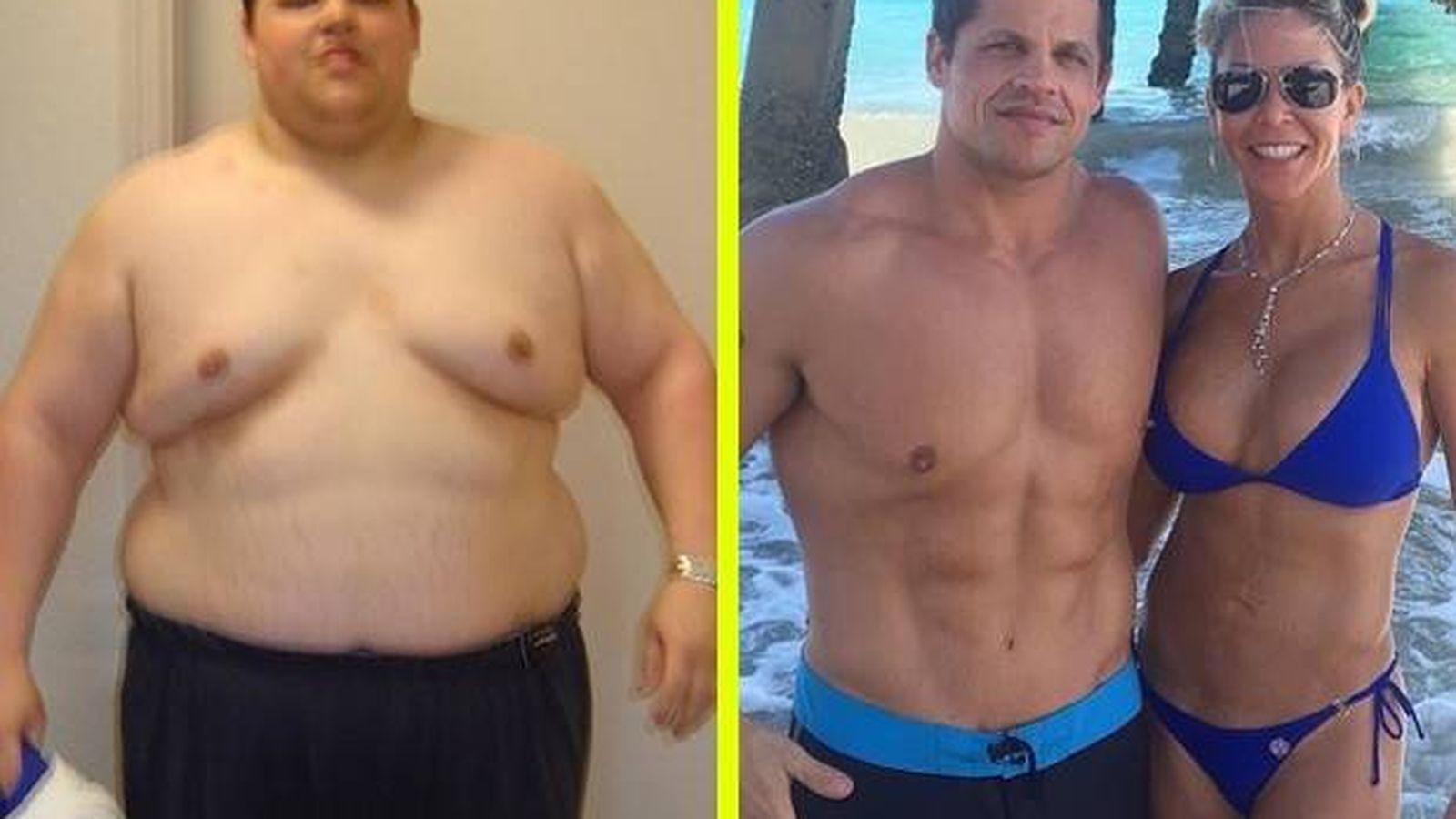 Foto: Antes y después. (Men's Health)