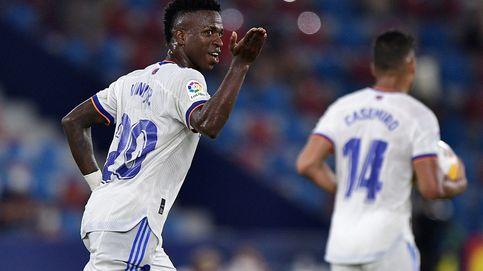 Vinícius Júnior se gradúa con una media hora extraordinaria para salvar al Madrid (3-3)