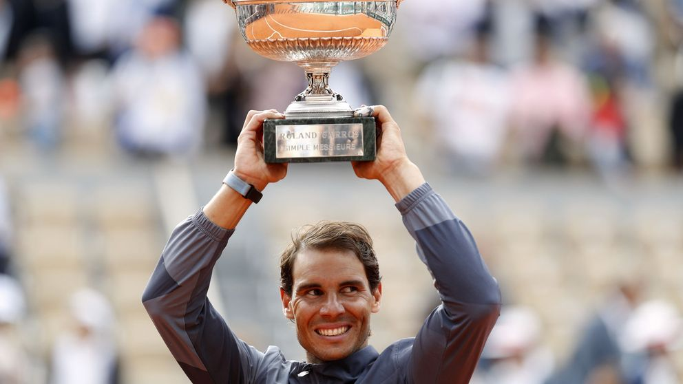 Las imágenes más curiosas del Rafa Nadal - Thiem de Roland Garros