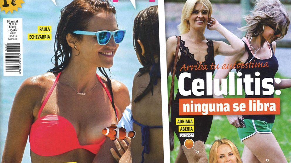 Las revistas de los miércoles: el descuido de Paula y la exclusiva de Alba
