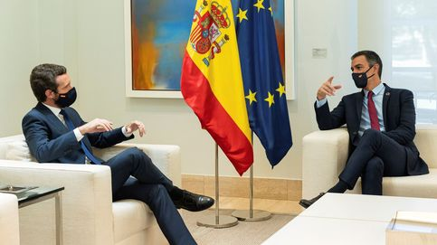 Casado mantiene sus condiciones para renovar el CGPJ tras la llamada de Sánchez