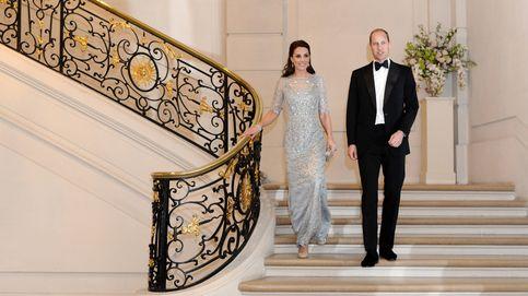 Cena de gala en París para Guillermo y Kate