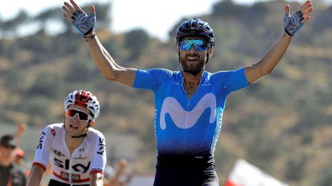 Valverde cumple a la primera: Ya he salvado el 80 % de la Vuelta para mí