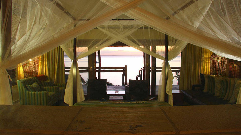 Hotel de lujo en Isla Benguerra, Mozambique. (J.B.)