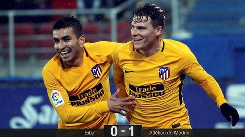 El Atlético da un paso atrás y acaba pidiendo la hora ante el Eibar