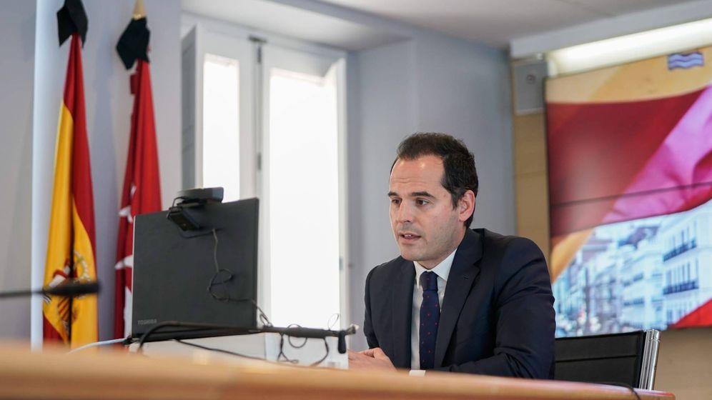 Foto: Ignacio Aguado, vicepresidente de la Comunidad de Madrid. (Foto cedida por la Vicepresidencia de la Comunidad)