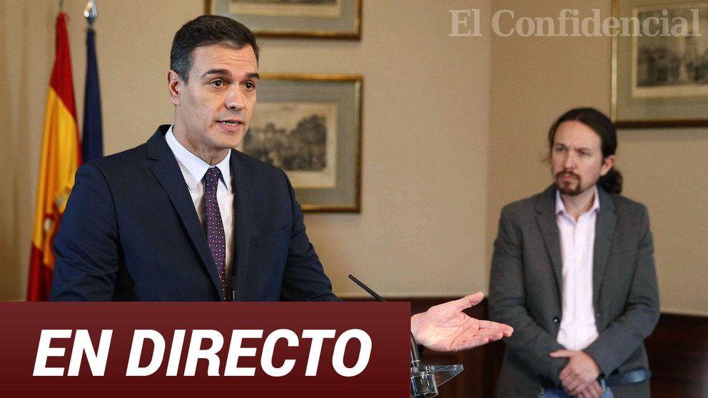 El acuerdo de Gobierno de coalición, en directo: sigue en 'streaming' la firma entre Pedro Sánchez y Pablo Iglesias