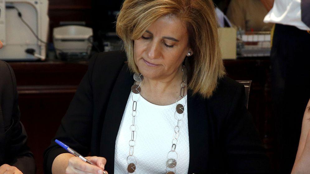 Foto: La ministra de Trabajo en funciones, Fátima Báñez. (EFE)
