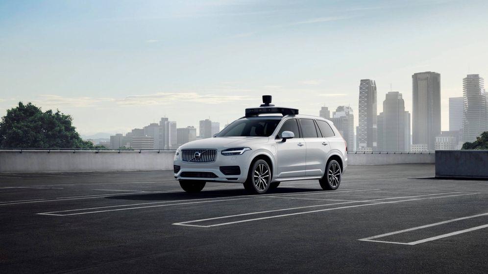 Foto: Este es el Volvo XC90 preparado por Uber para ser un coche autónomo de producción.