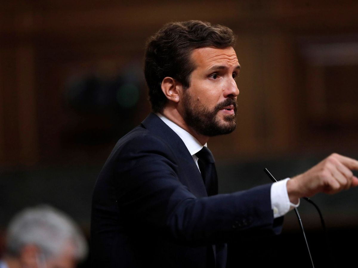 Foto: El líder del Partido Popular, Pablo Casado. (EFE)