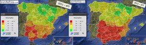 Foto: El mapa del paro en España