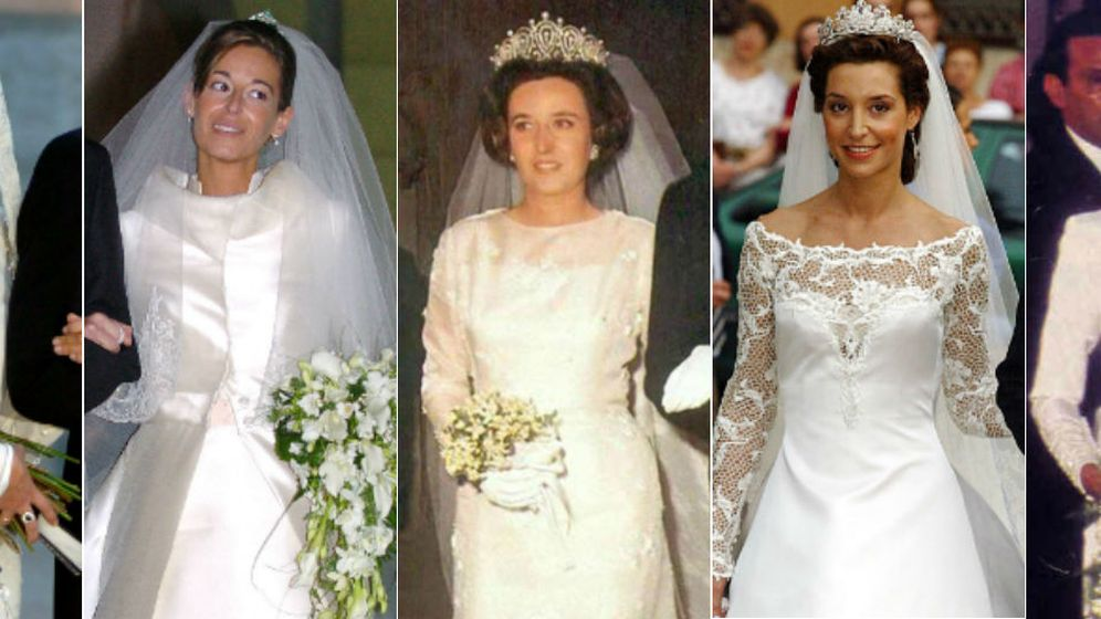 Foto: Las novias de la familia Gómez-Acebo