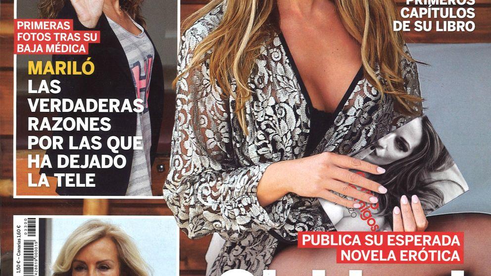 Las revistas de los miércoles: Olvido Hormigos 'se desnuda' para estrenar libro