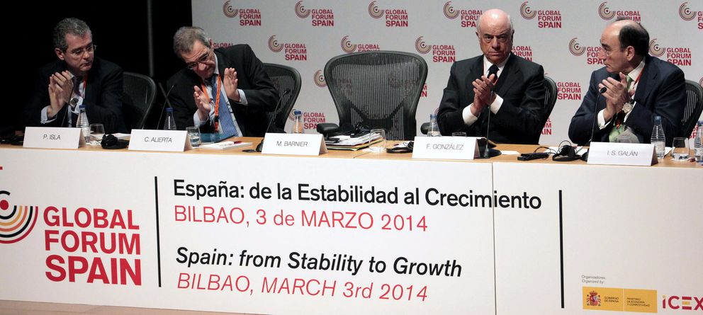 Los jefes del Ibex entierran la crisis, pero alertan de la autocomplacencia