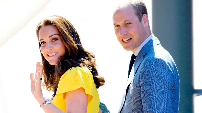 Kate Middleton y el príncipe Guillermo en una foto de archivo.  (Getty)