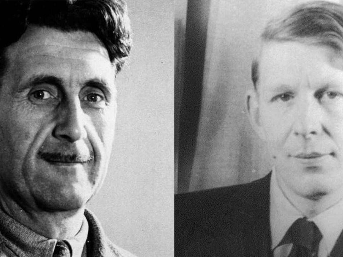 Foto: Orwell y Auden
