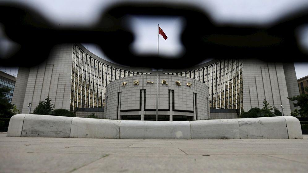 Foto: Imagen de la sede del Banco del Pueblo de China / REUTERS