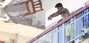 Post de Fuego intencionado y peleas: tensión entre los vecinos aislados por un brote en Nápoles