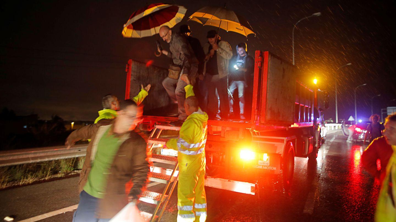 Rescatados en Orihuela, cerca de Murcia (Reuters)