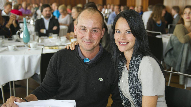 Sofía de Suecia, junto al chef Stefano Catenacci en 2011. (Cordon Press)