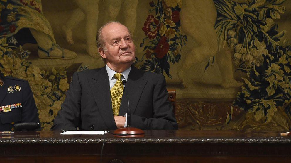 Don Juan Carlos reactiva su agenda y ya usa despacho en Palacio Real