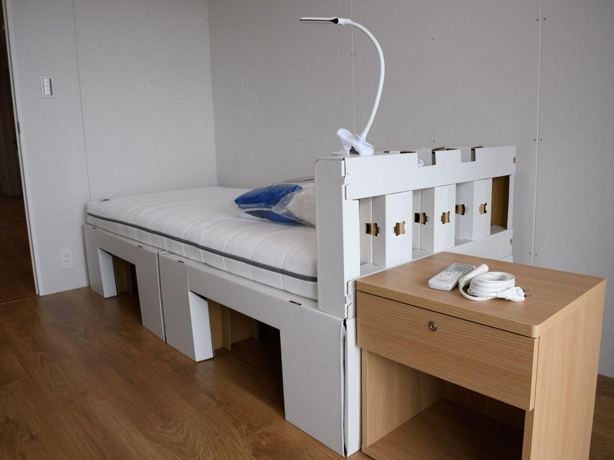 Foto: Los muebles de la villa olímpica serán reciclados tras los Juegos (EFE EPA/Akio Kon)