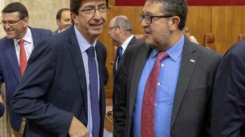 Diputados de Podemos y Vox, los más 'tiesos' del Parlamento andaluz