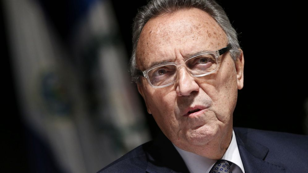 Foto: Joan Gaspart, ex presidente del FC Barcelona y ex directivo de Villar en la RFEF. (EFE)