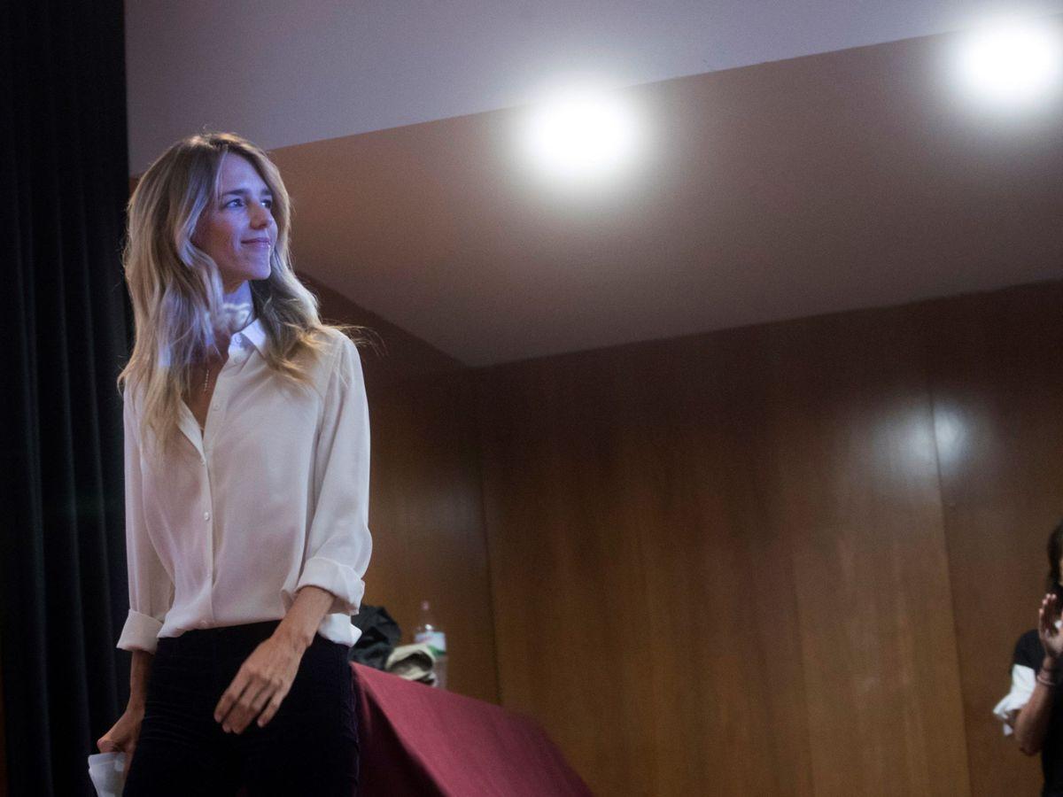 Foto: La cabeza de lista del PP al Congreso por Barcelona, Cayetana Álvarez de Toledo. (EFE)