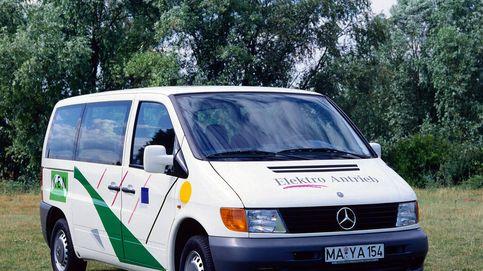 Así era la primera furgoneta Vito eléctrica de Mercedes-Benz, una pionera hace 25 años