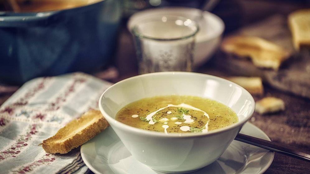 Foto: Sopa de pollo. (iStock)