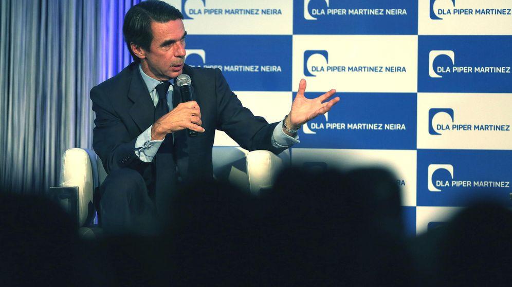 Foto: El expresidente del Gobierno español, José María Aznar. (EFE)