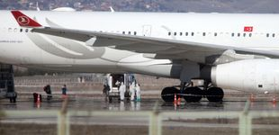 Post de Turquía retine un avión con respiradores para España en Ankara