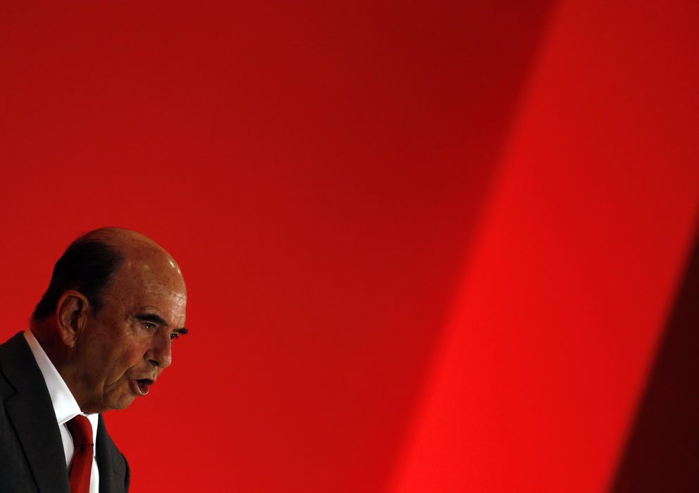 Foto: Foto de archivo de Emilio Botín (Reuters)