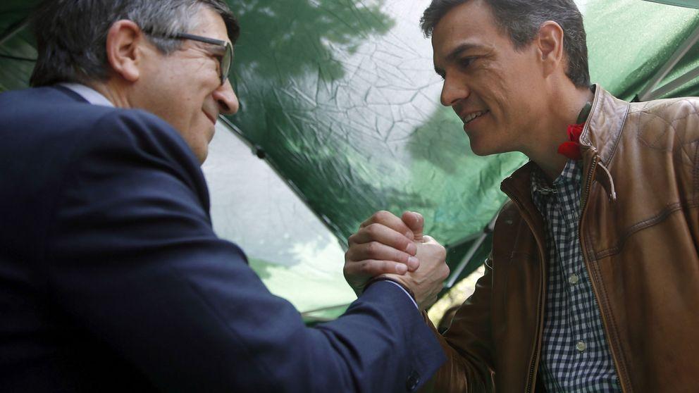 Pedro Sánchez ofrece a Patxi López un puesto clave en la ejecutiva del PSOE