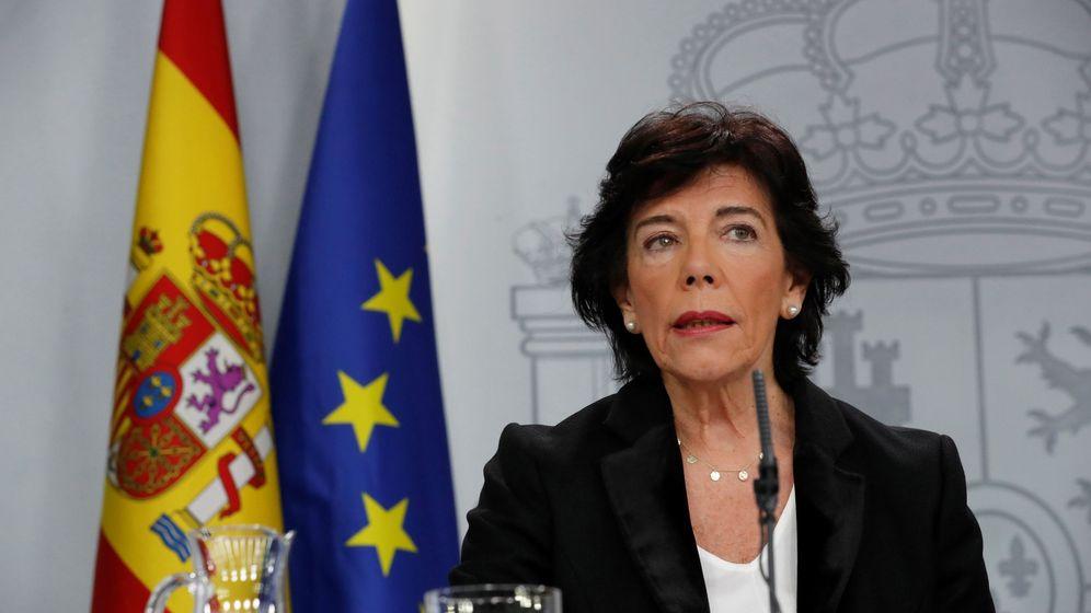 Foto: La Ministra de Educación y portavoz del Gobierno en funciones Isabel Celaá. (EFE)