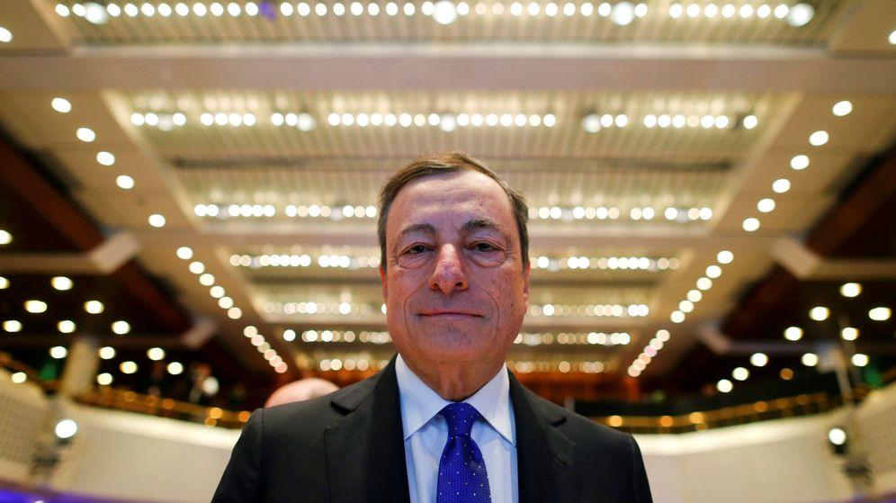 Foto: El presidente del Banco Central Europeo, Mario Draghi