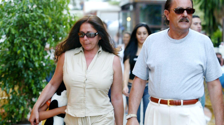 Isabel Pantoja y Julián Muñoz en 2004.(Gtres)