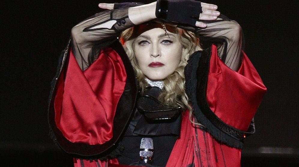 Foto: Madonna durante un concierto en Zurich. (Efe)