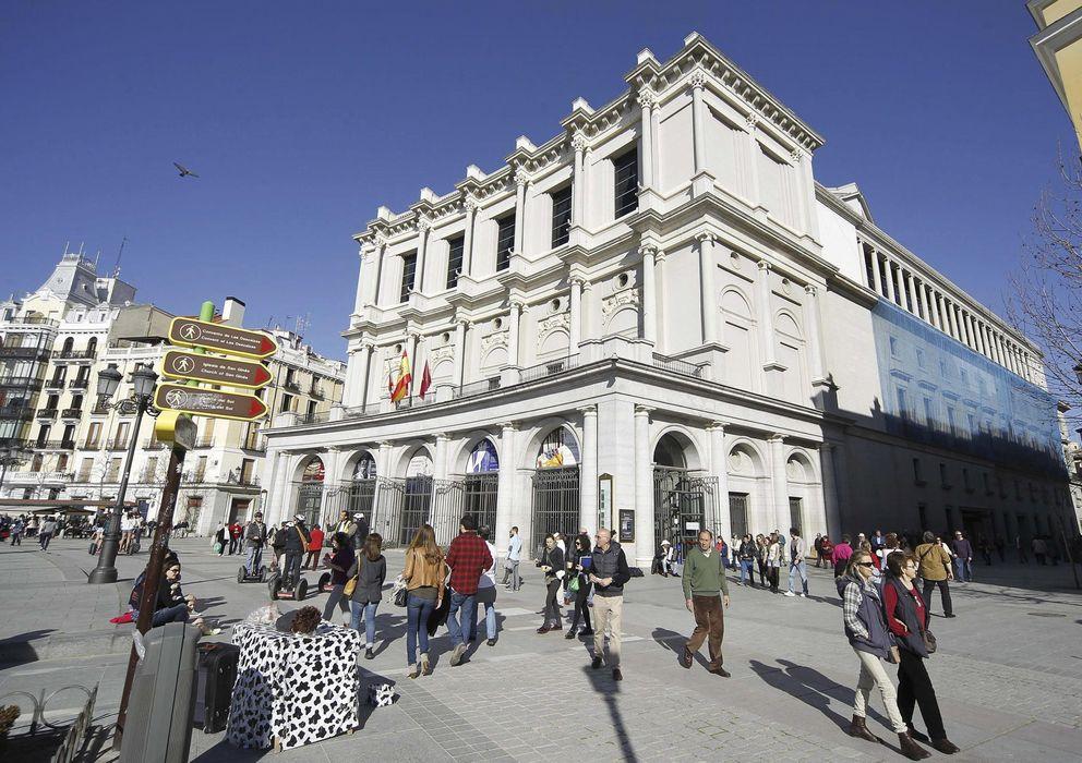 Foto: El Teatro Real madrileño (EFE)