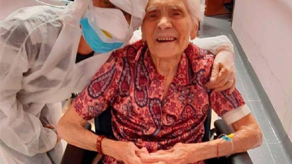 La mujer más anciana del mundo que ha sobrevivido al coronavirus