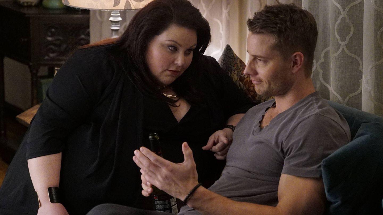 Kate y Kevin compartiendo confidencias.