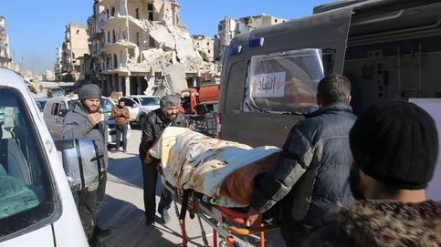 El régimen dispara contra ambulancias que evacúan heridos en Alepo