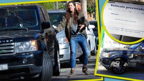 Malos tiempos para Vicky Martín Berrocal: la Seguridad Social precinta su coche