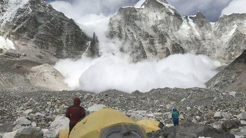 Salvado 'in extremis' de ser sepultado por una avalancha