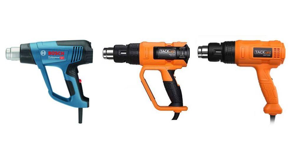 Las mejores decapadoras y pistolas de aire caliente