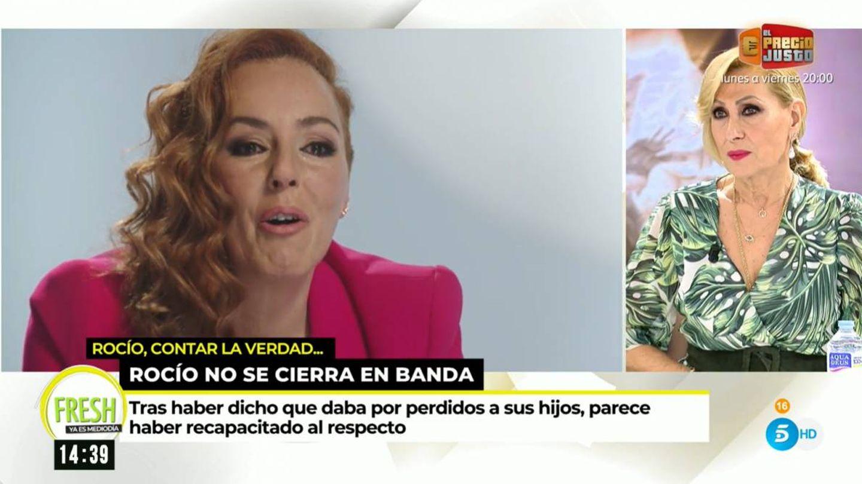 Rosa Benito, en 'Ya es mediodía'. (Mediaset)