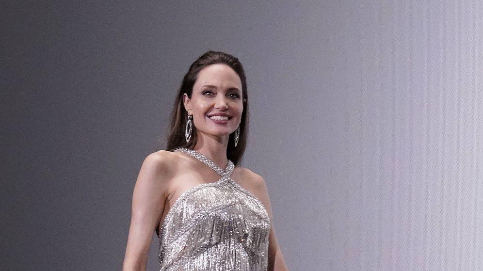 Foto: Angelina Jolie, durante un evento de presentación en Asia. (Getty)